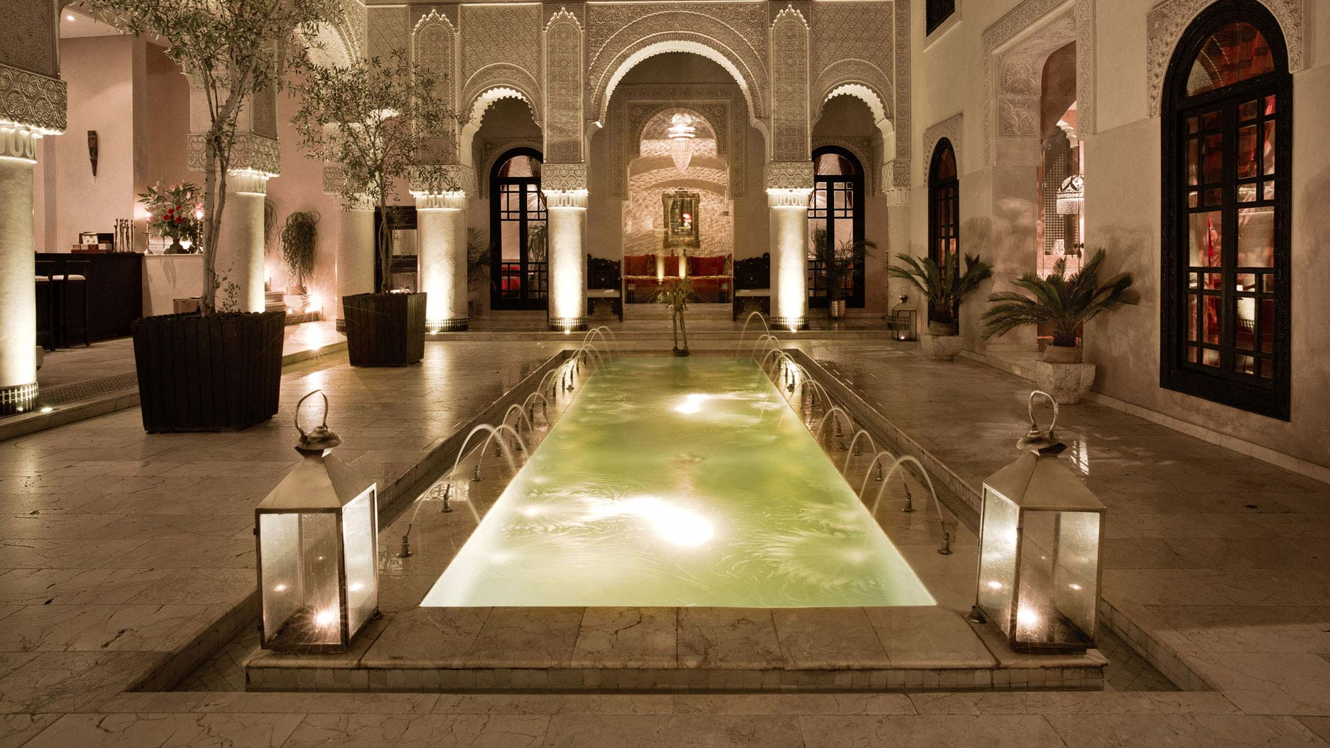 Riad Fes Pool in Morocco