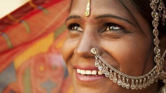 Smiling Indian Woman