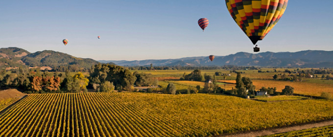 Taste Napa's Wines by Private Jet