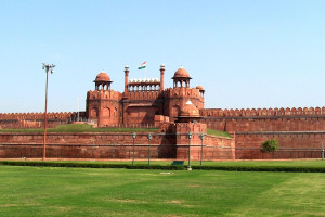 Red Fort Delhi India Small