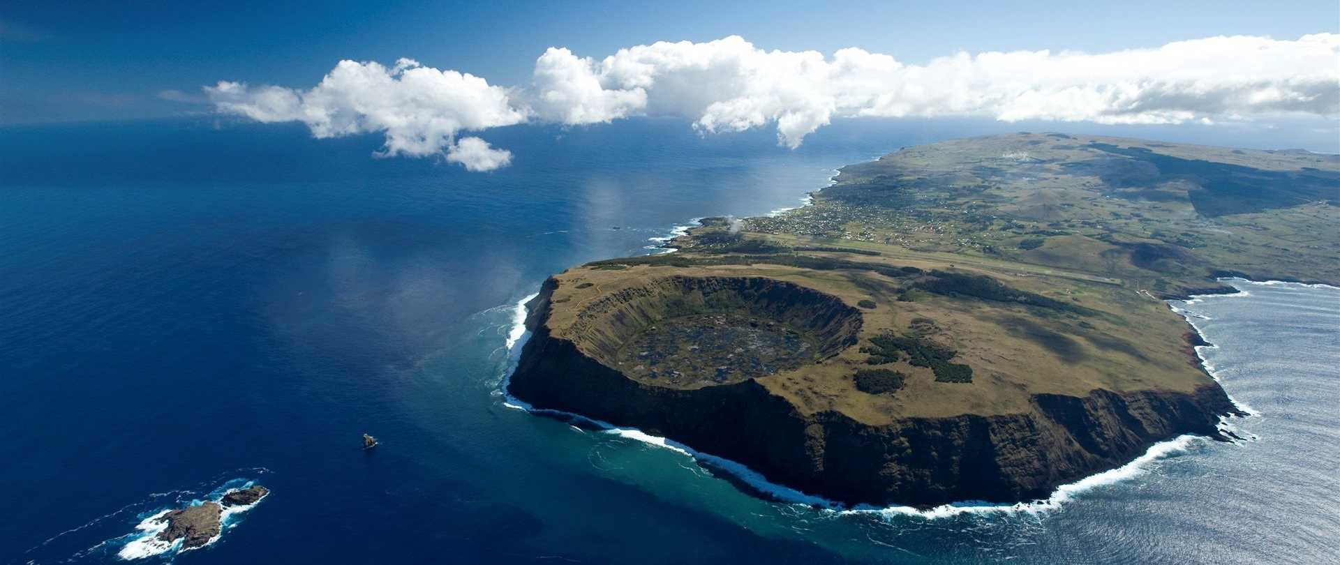 Easter Island Aerial View