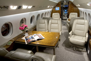 Falcon 2000LX Cabin View