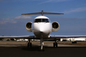Gulfstream GIV Front Exterior View