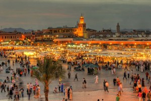 Marrakech Unesco Square Morocco Small