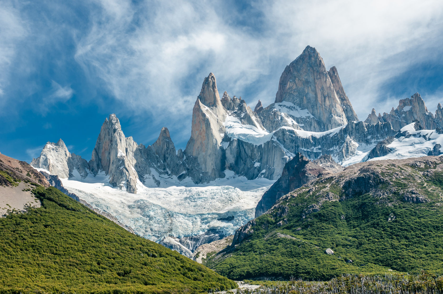 Mount Fitz Roy in Argentina