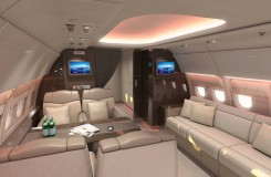 Executive Jet Airbus ACJ318 Interior