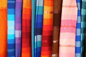 Assorted Moroccan Fabrics Small