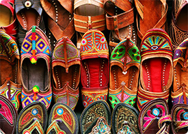 Delhi Old City Sandal Market