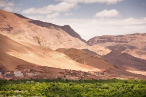 Draa Valley in Morocco Small
