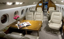 Falcon 2000LX Cabin View Small