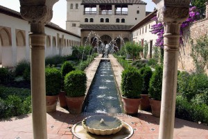 Generalife Palace Spain Small