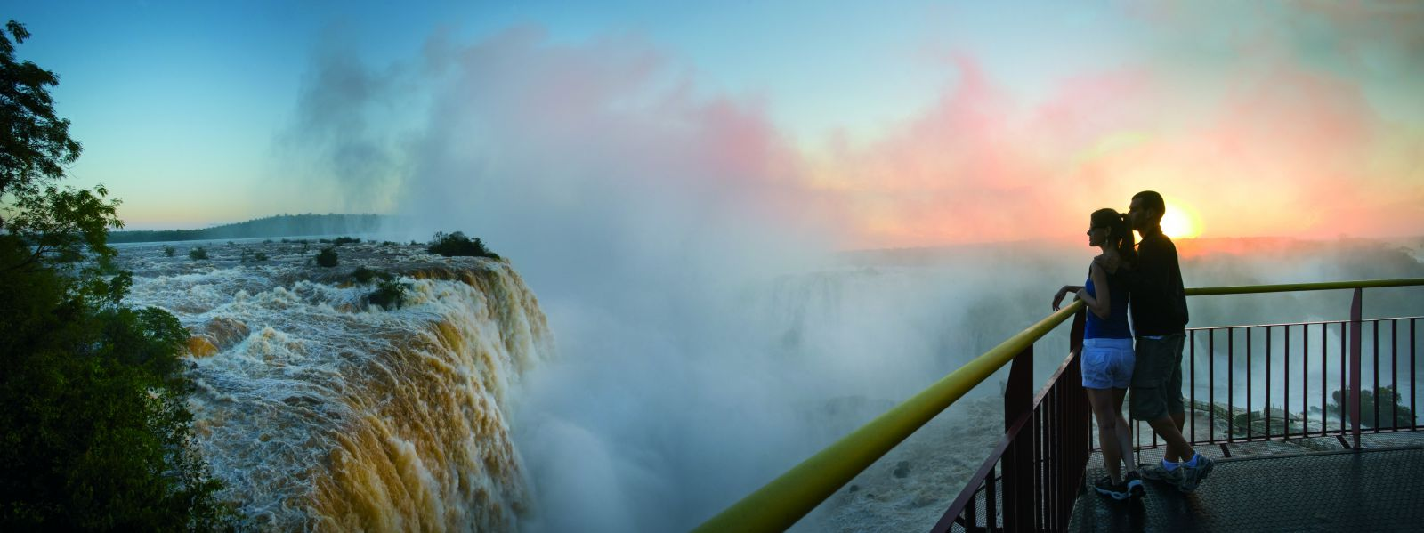 Iguazu Waterfalls Panoramic View