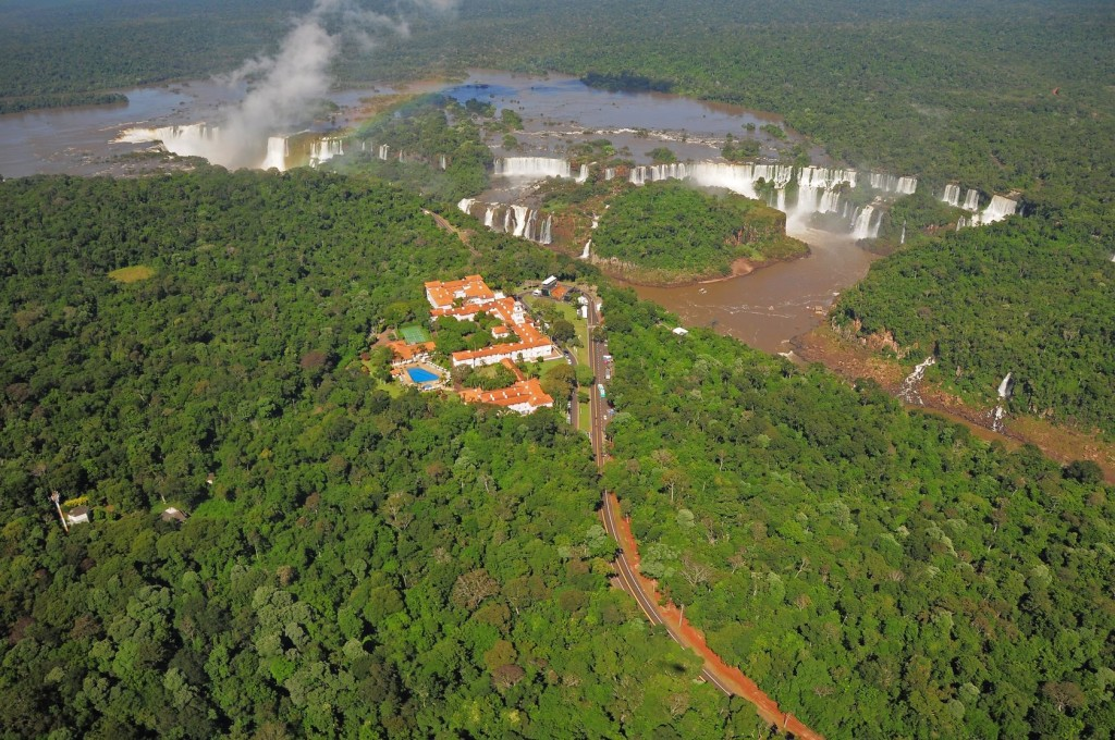 Aerial View of Iguzu Falls