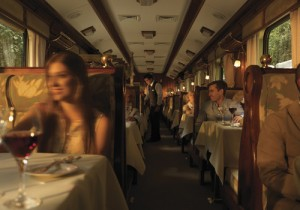 Inside Hiram Bingham Train Small