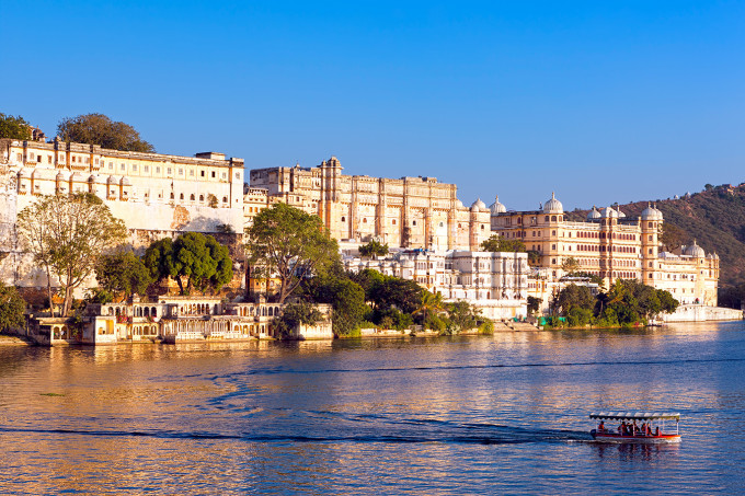 Pichola Lake Palace in Udaipur