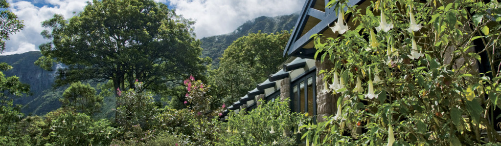 Sanctuary Lodge in Macchu Picchu