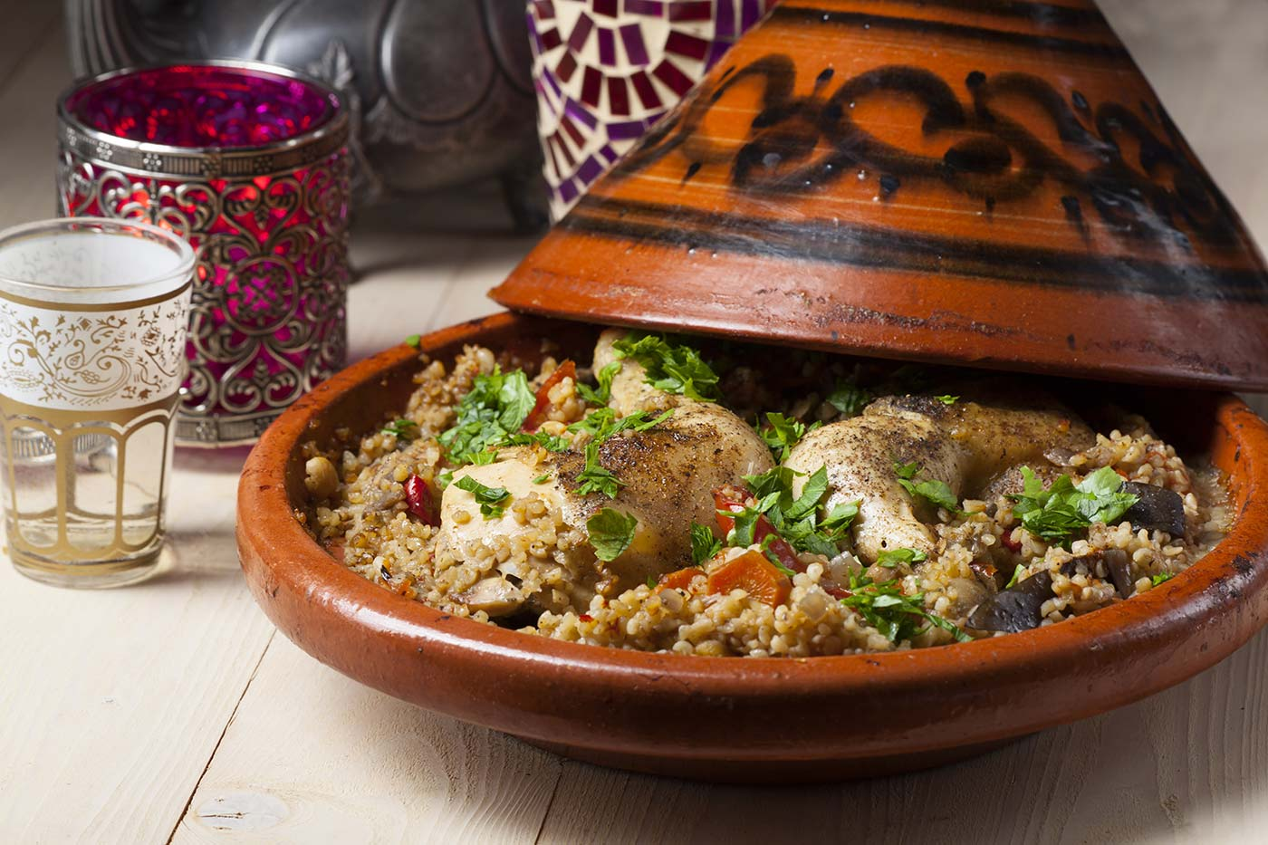... Moroccan culture. Learn to make a tagine the traditional way; then