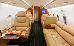 Business Jet Interior Small
