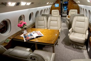Falcon 2000LX Jet Interior Small