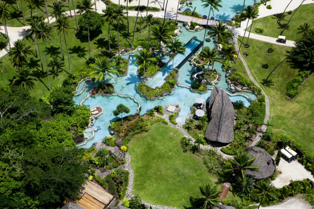 Laucala Island Grounds Top View