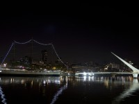 Puerto Madero Night Lights Small