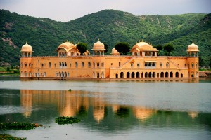 Rajasthan Jaipur Water Palace Small