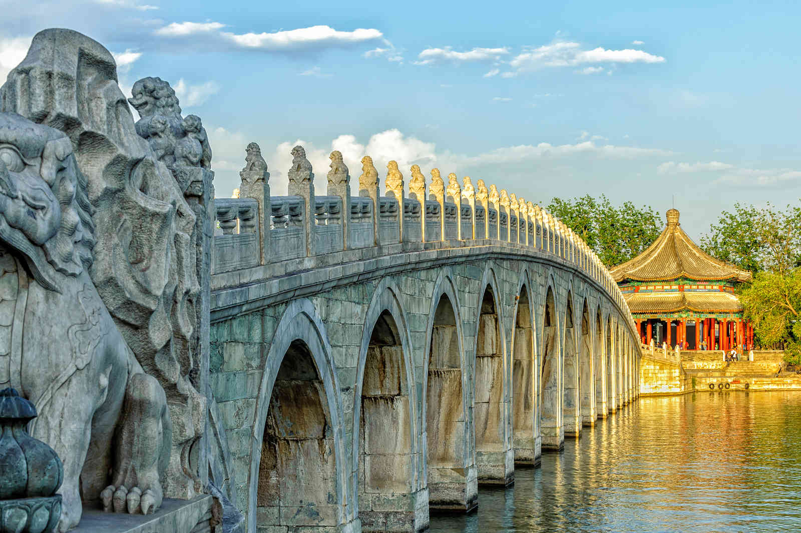 Summer Palace - 17-Arch Lion Bridge