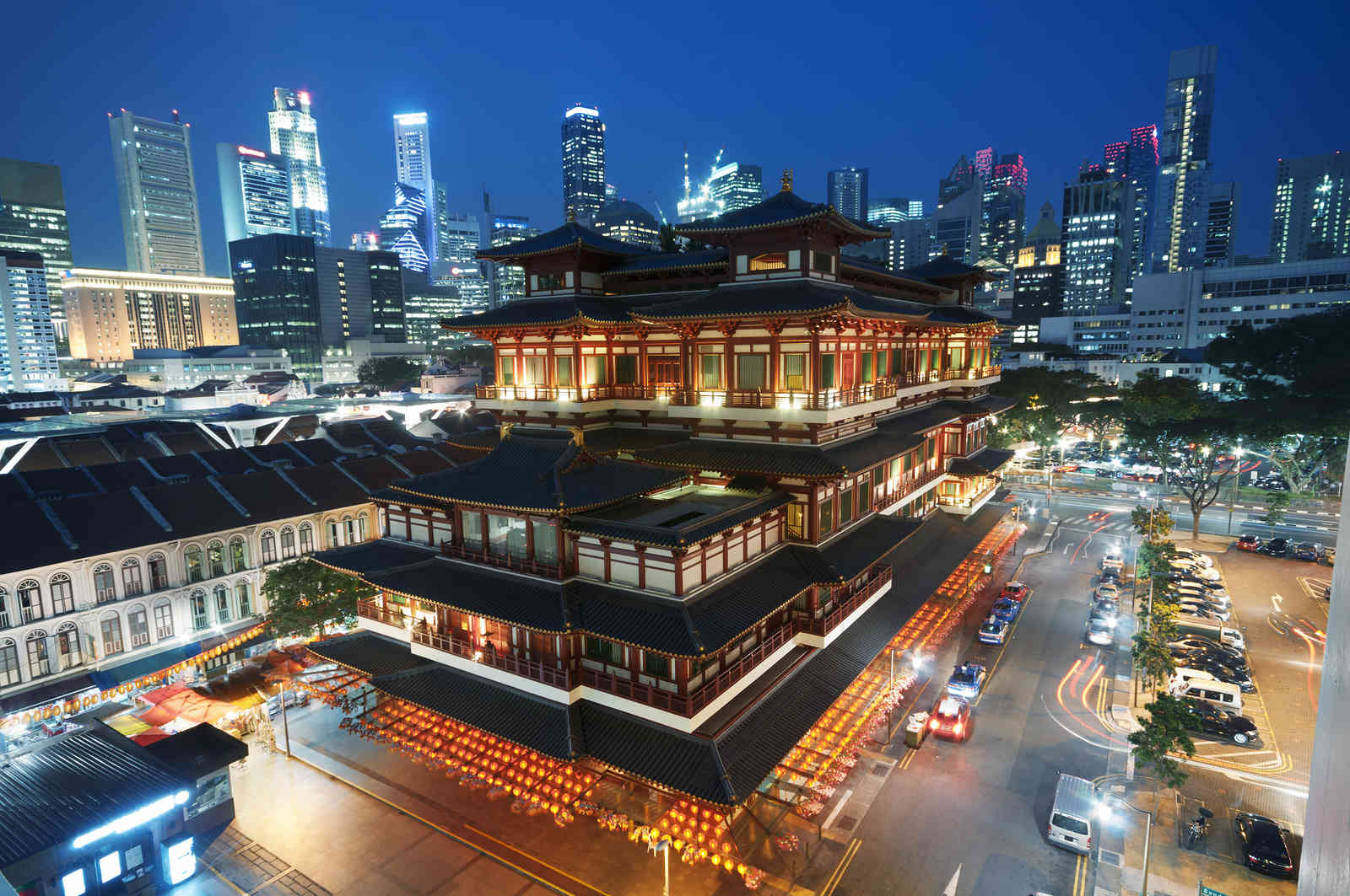 Buddha Toothe Relic Temple