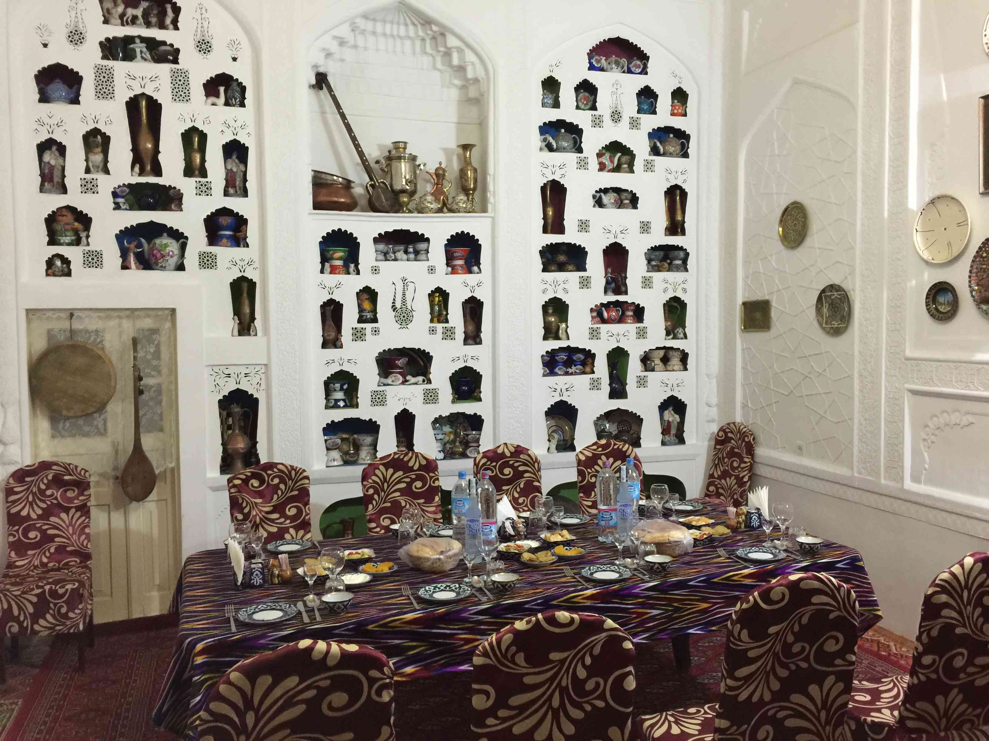 Family Dinner in Bukhara