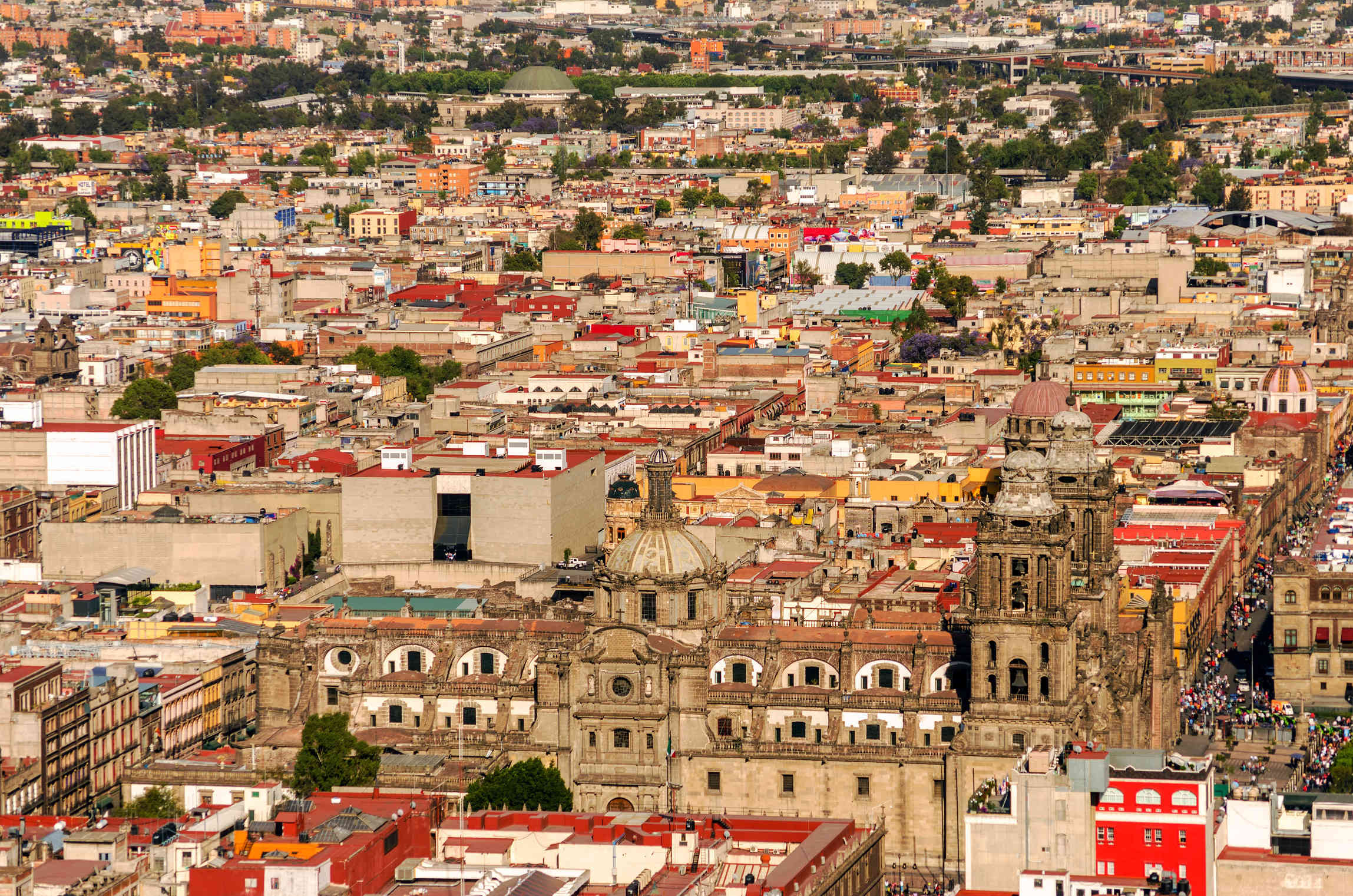 Metropolitan Cathedral and Zócalo