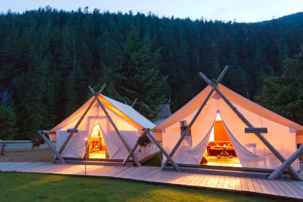 Clayoquot Games Room Tent