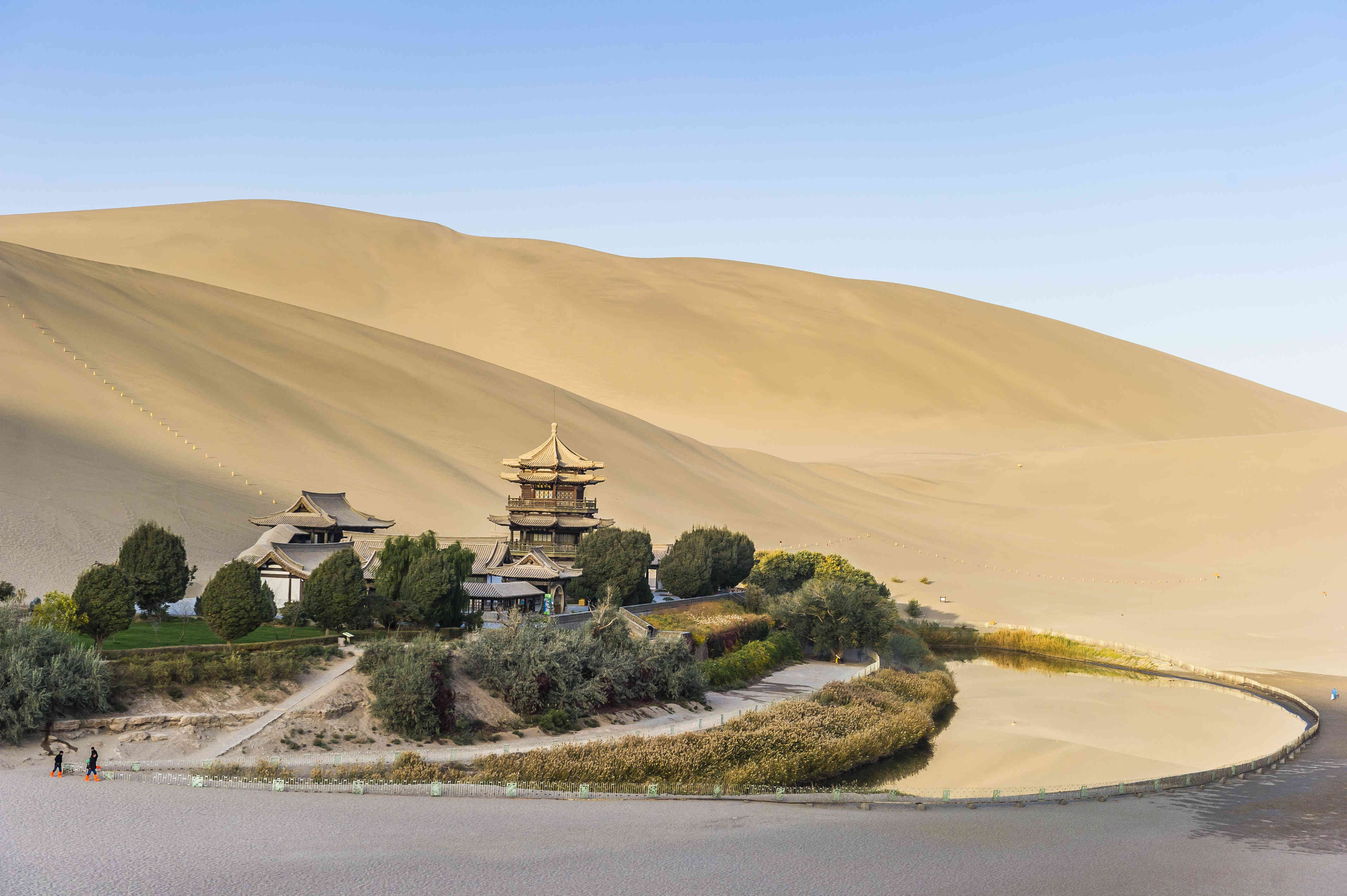 Crescent Moon Lake - Dunhuang