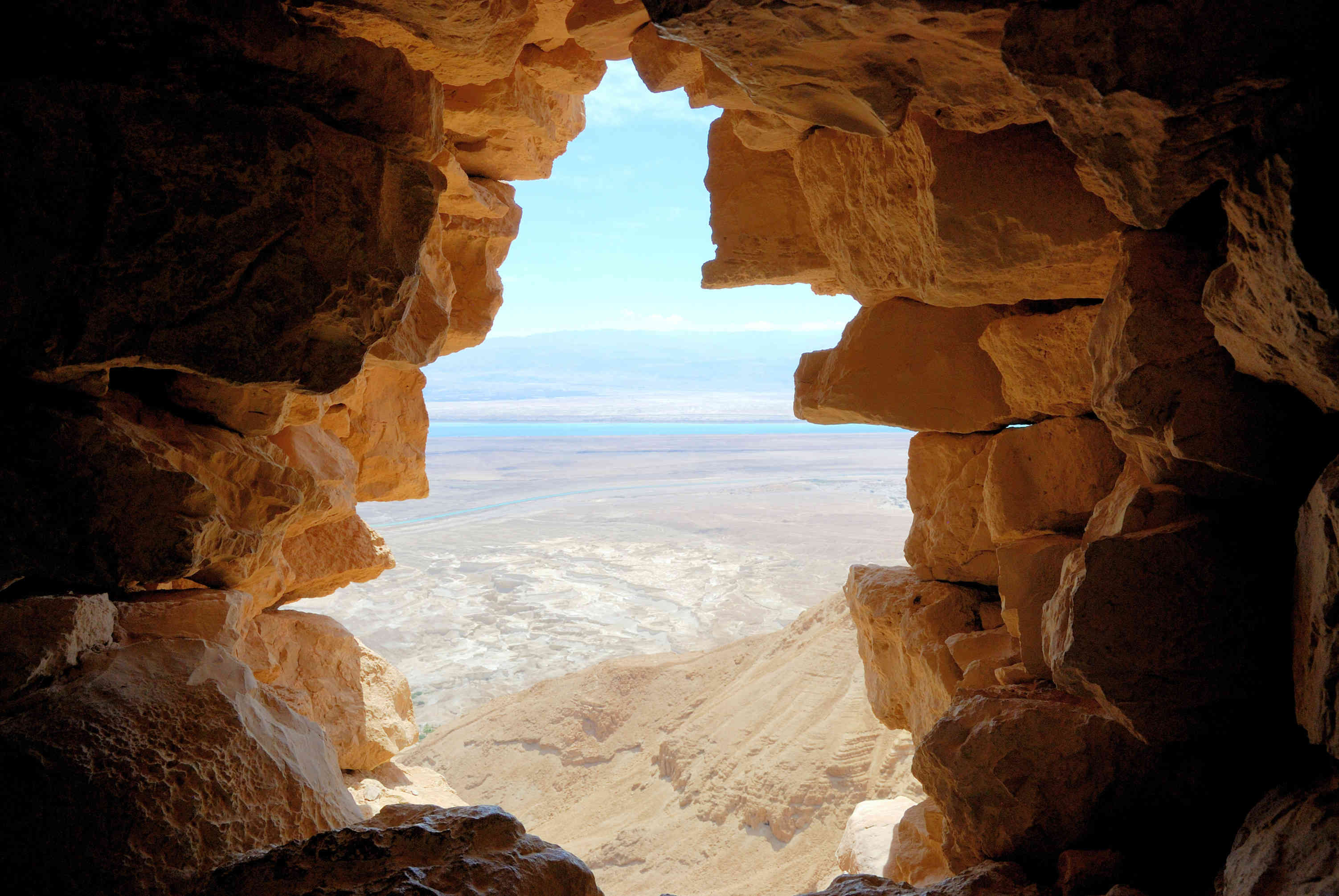 Dead Sea as Seen from Masada