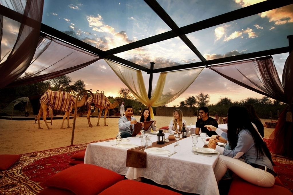 Dining in the Dunes