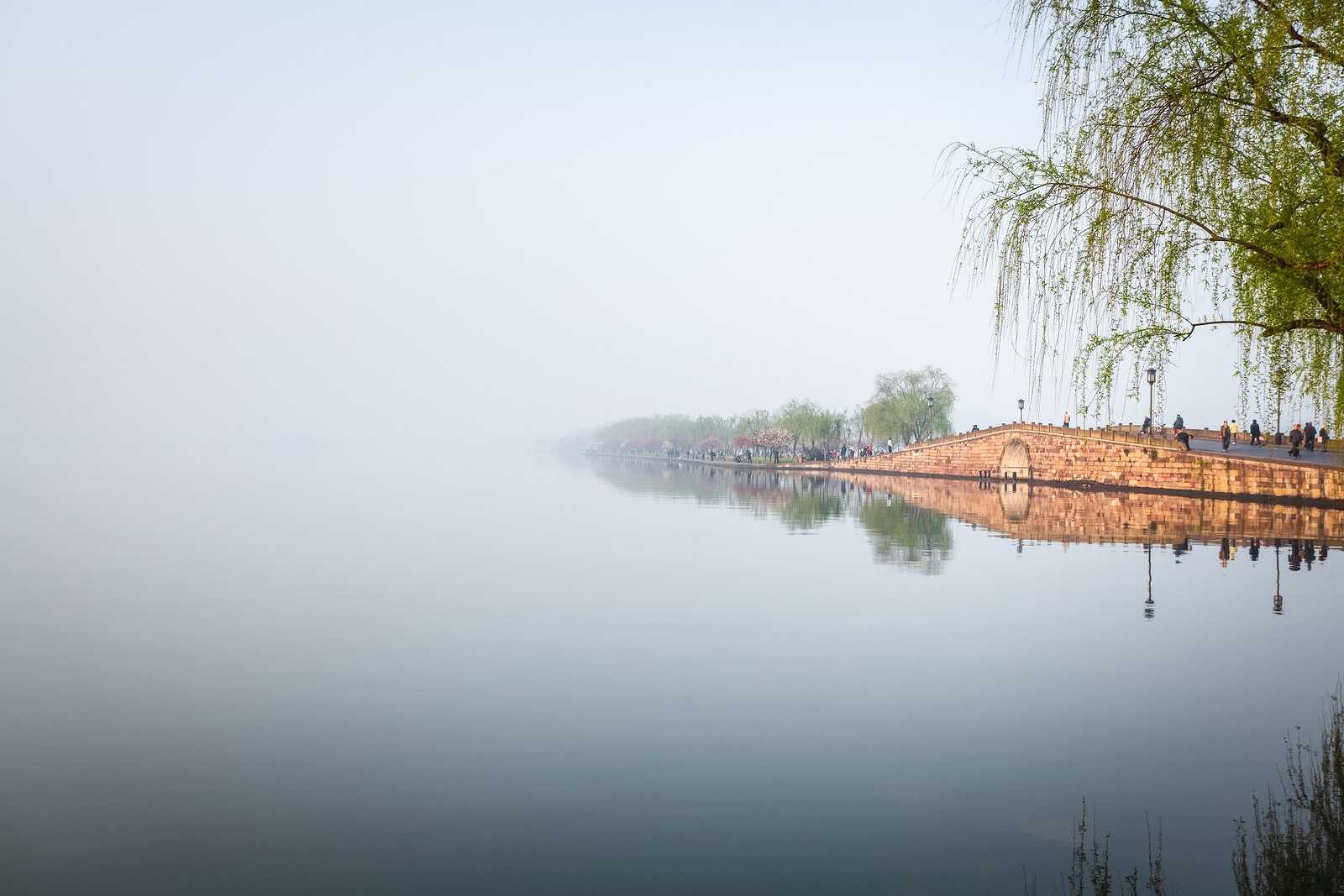 Hangzhou Broken Bridge In West Lake