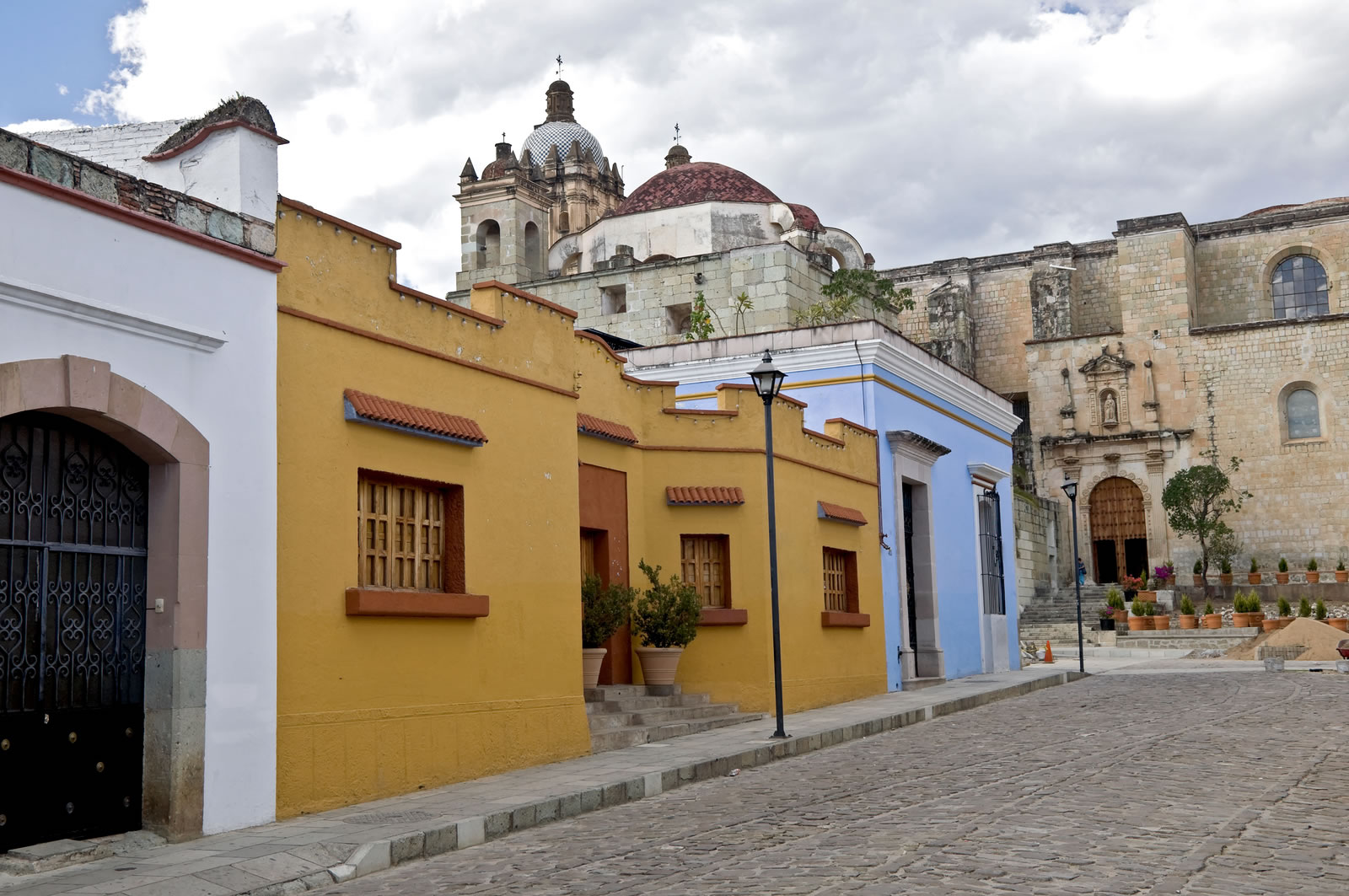 Historic Buildings, Old City of Oaxaca
