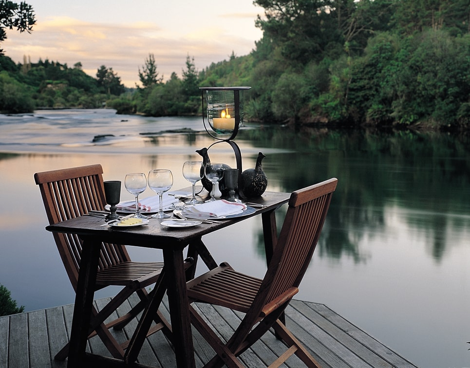 Huka Lodge Dining
