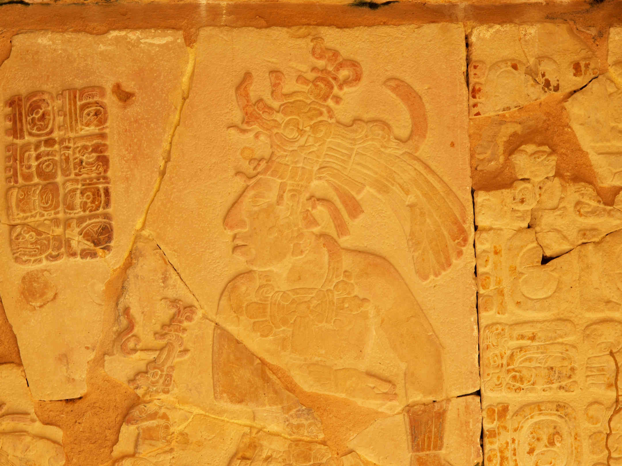 King Pakal Depiction, Palenque
