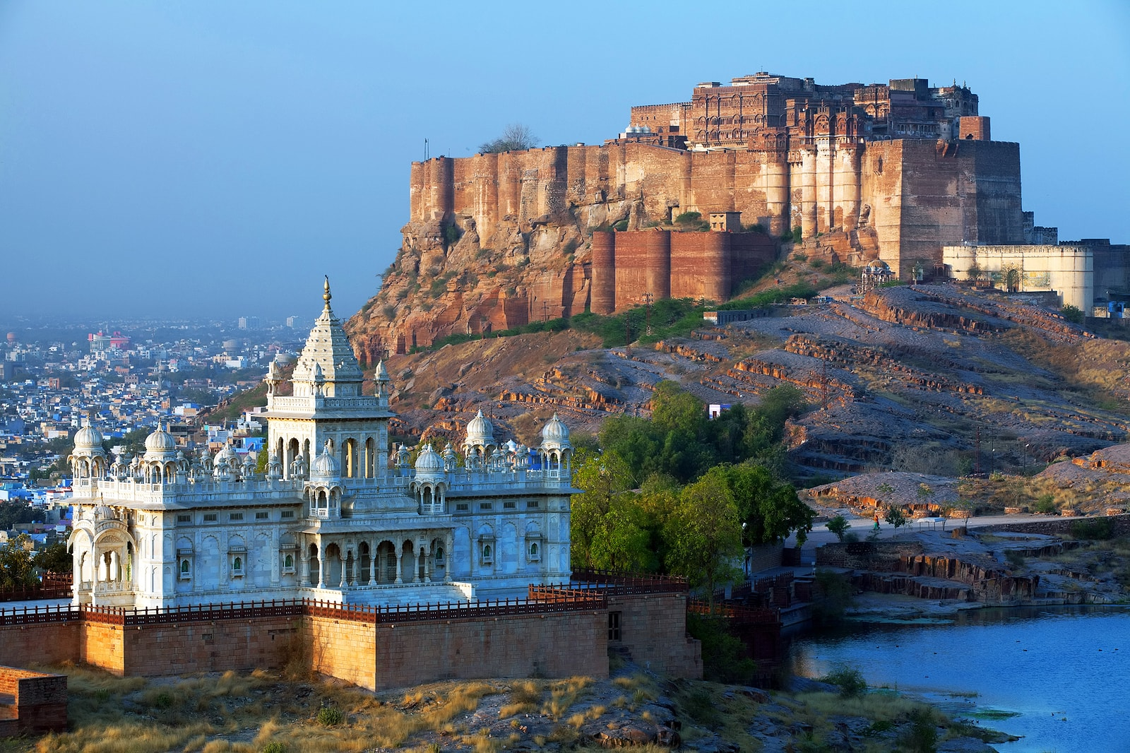 Mehrangarh Fort and Jaswant Thada Mausoleum, Jodhpur