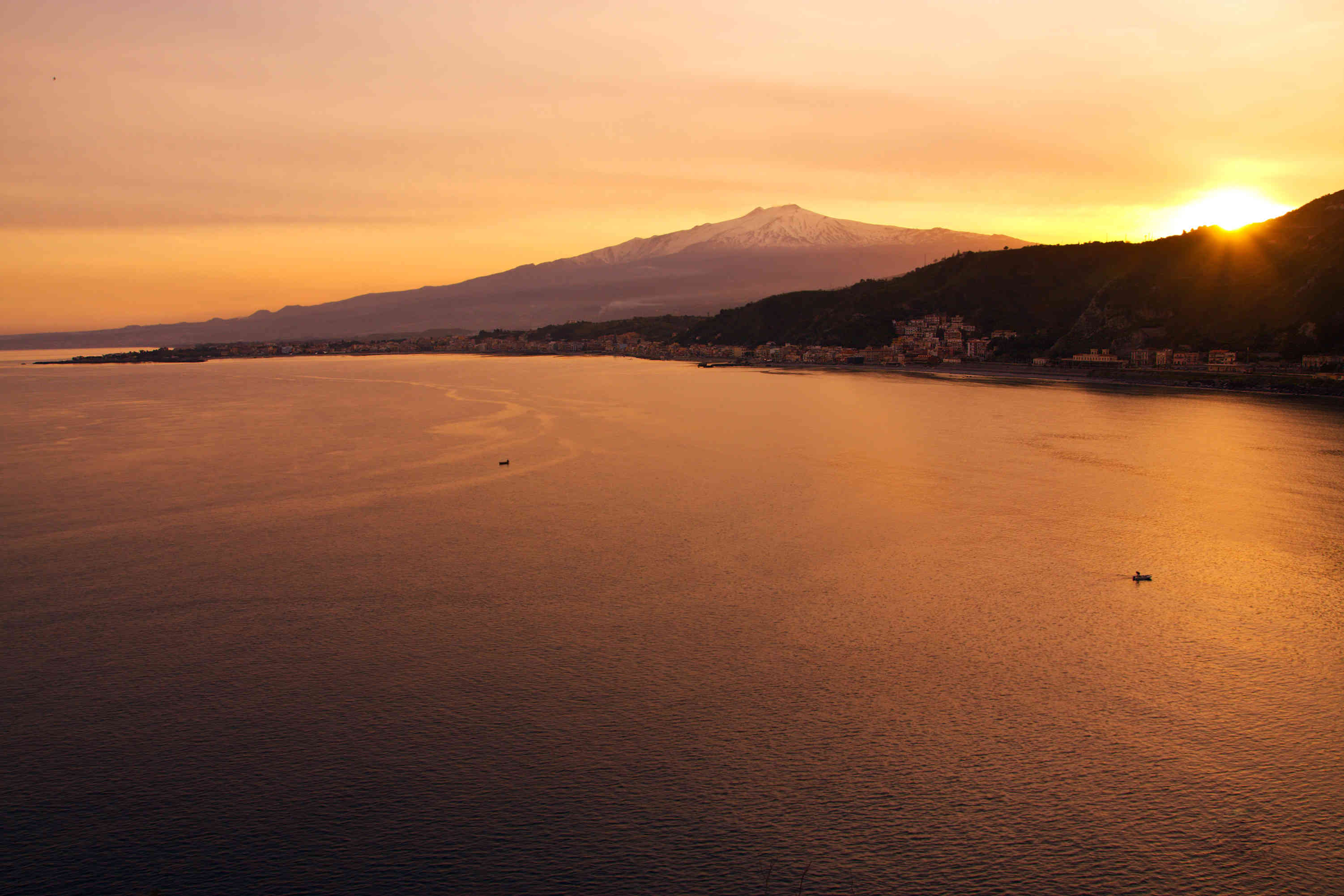 Mount Etna at Sunrise