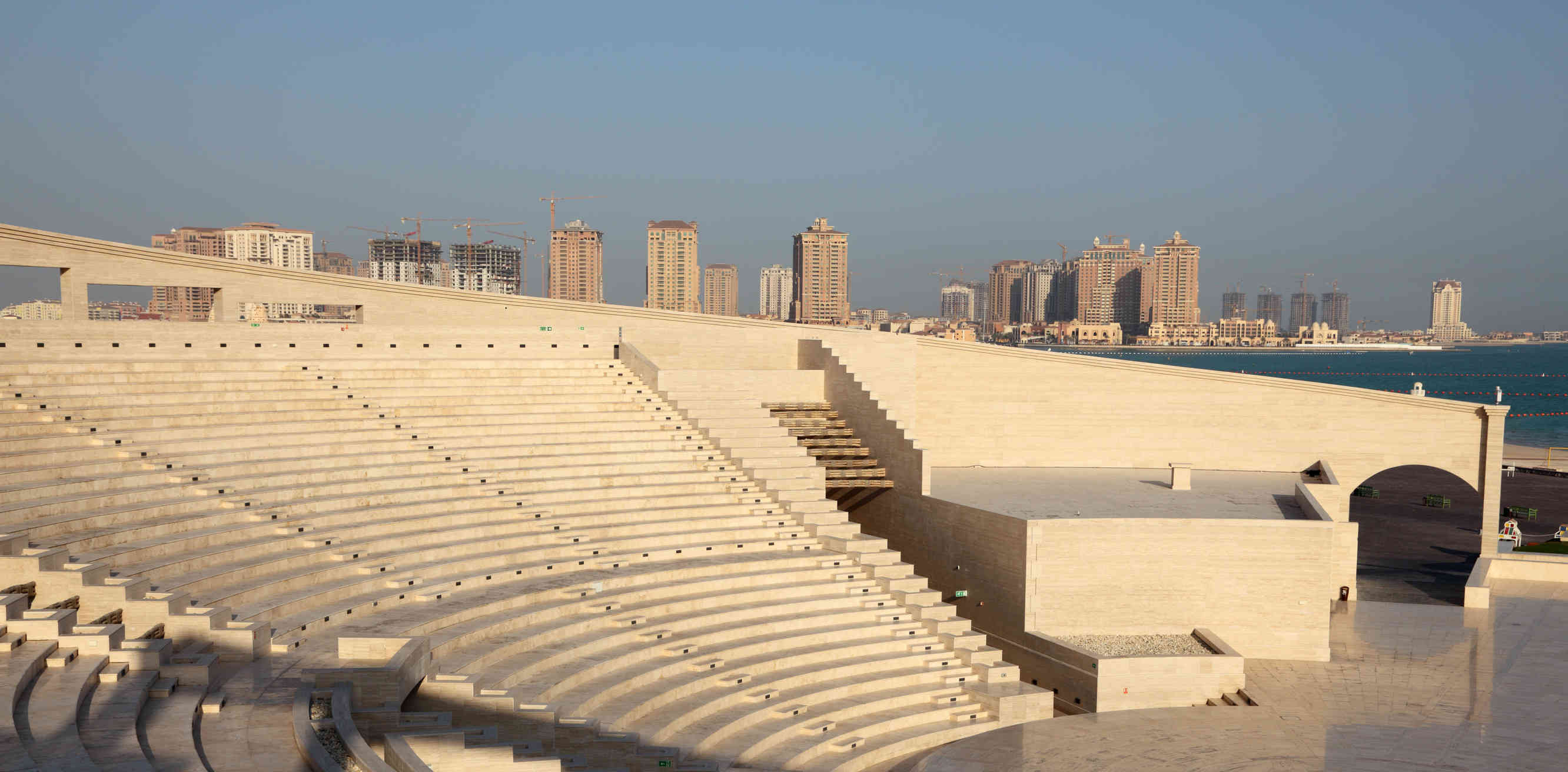 Amphitheater at the Cultural Village of Katara