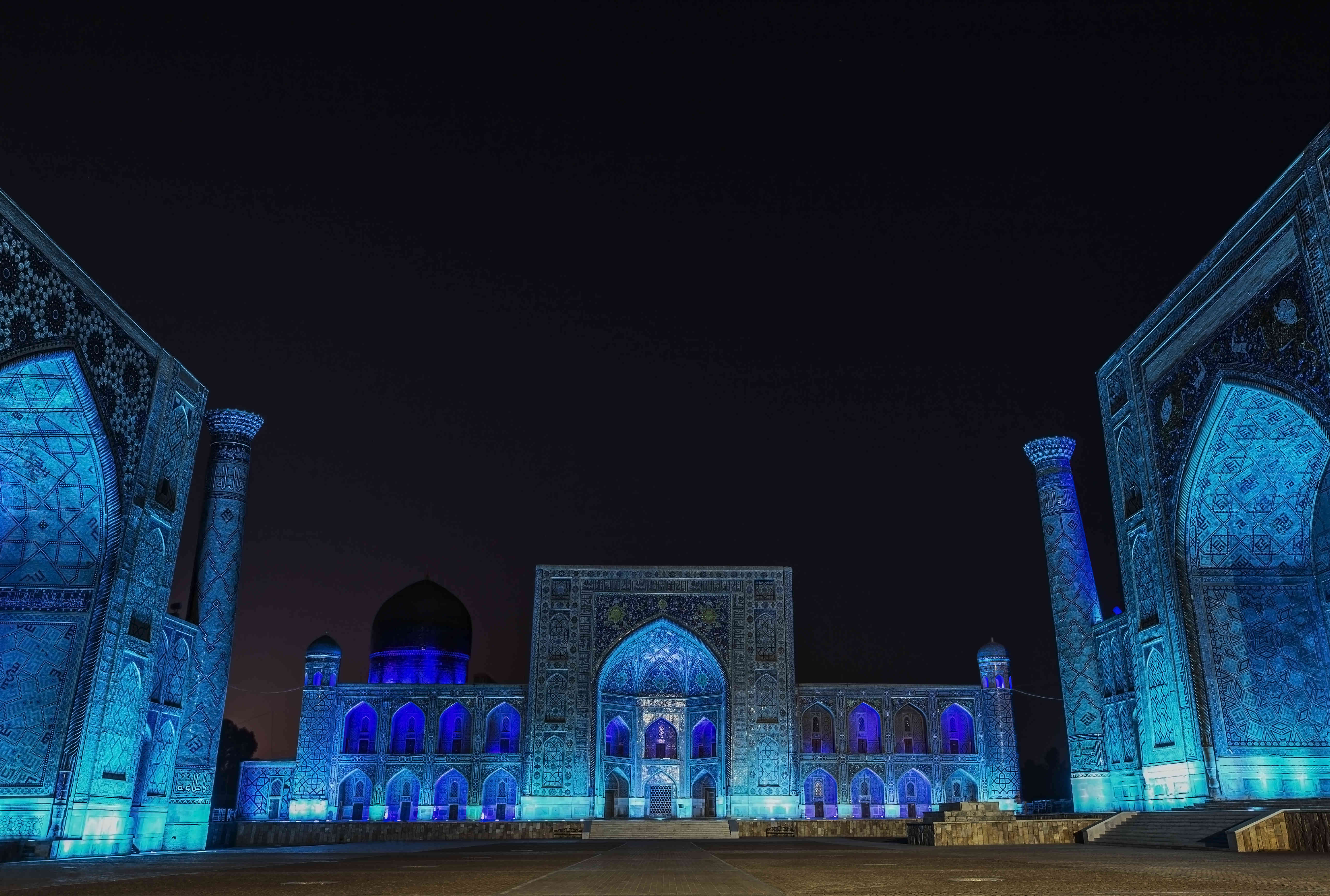 Registan Square Light & Sound Show