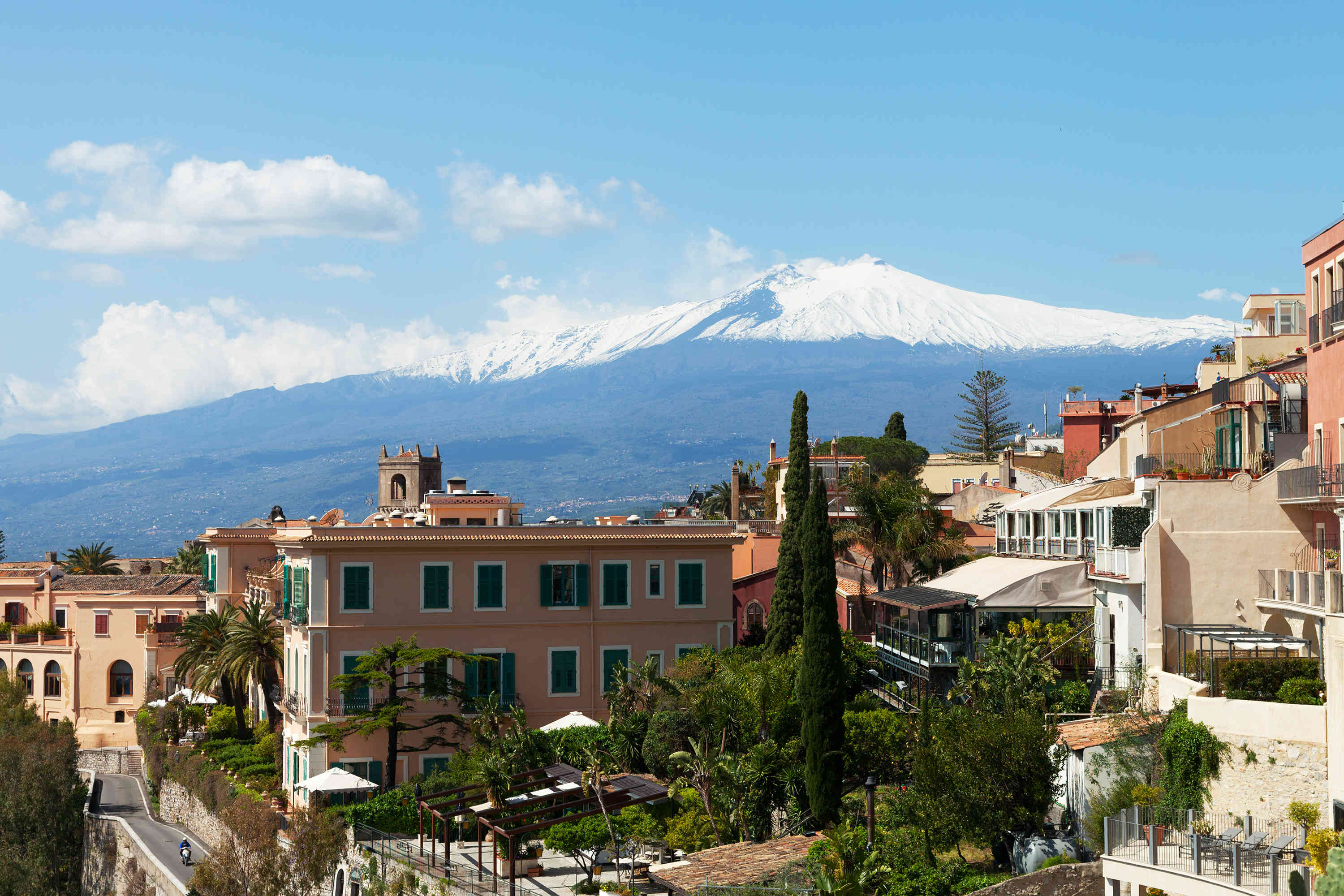 Taormina and Mount Etna