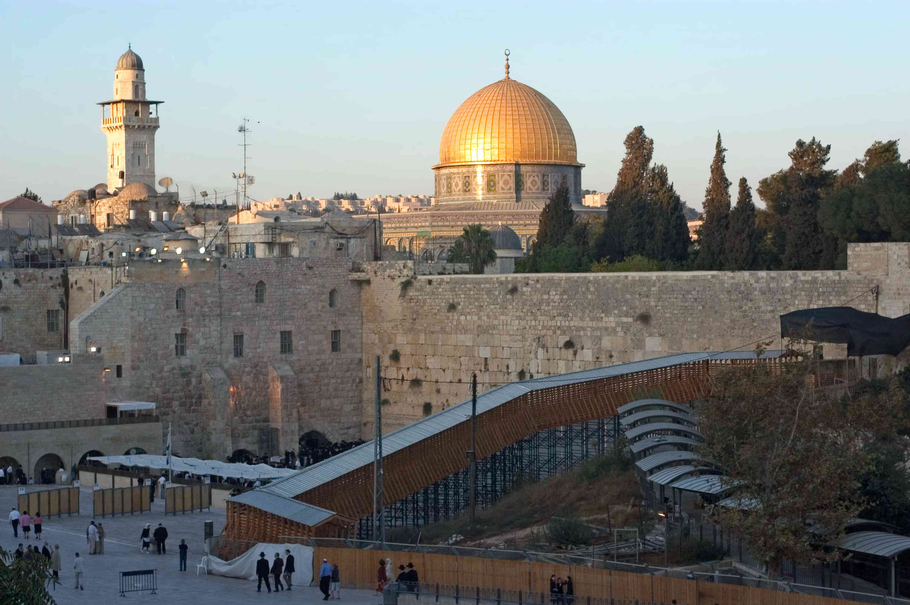 The Western Wall and the Temple of Mount