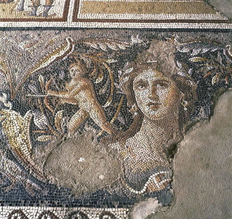 Mosaic Found at Tzipori