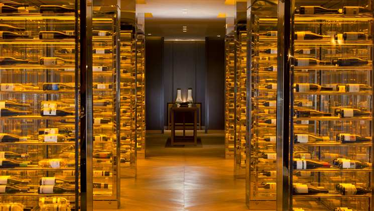 Waldorf Astoria Wine Storage Beijing