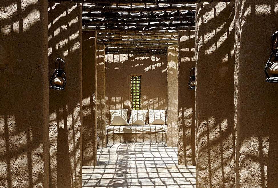 Six Senses Spa Entrance