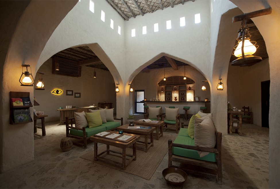 Six Senses Spa Lobby